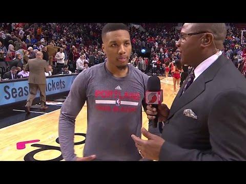 Damian Lillard Predicts Major UPSET vs Warriors in NBA Playoffs