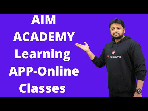 AIM Academy Learning APP | SET Paper-I Classes | Download and Register