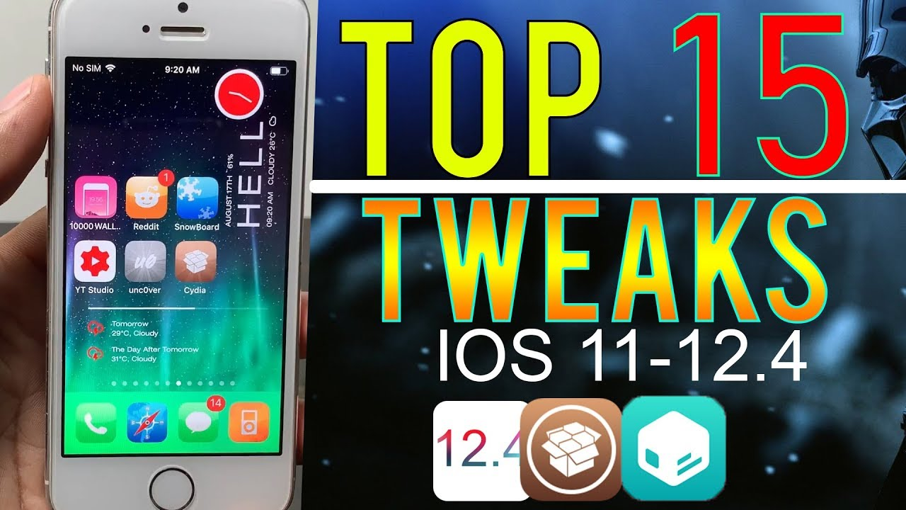 *NEW* TOP 15 Best Jailbreak Tweaks For iOS 11-12 4 (Cydia & Sileo) Fast  Hindi