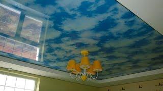 Облака на потолке №10 - www.vgceiling.ru(http://www.vgceiling.ru/ глянцевые облака - хорошее решение для детской комнаты., 2013-06-27T17:13:47.000Z)