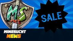 MineSucht.net Shop Sale - Neue Kisten loot