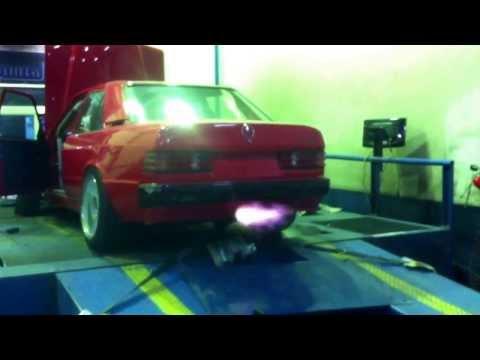 Anti Lag Benz 190E 2JZ Engine Swap, Link ECU, Mass Power Garage build, Tuned by Ahmad Daham, Jordan