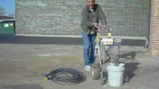 Graco Gmax 3900 5900 7900 gas arless paint sprayer intro