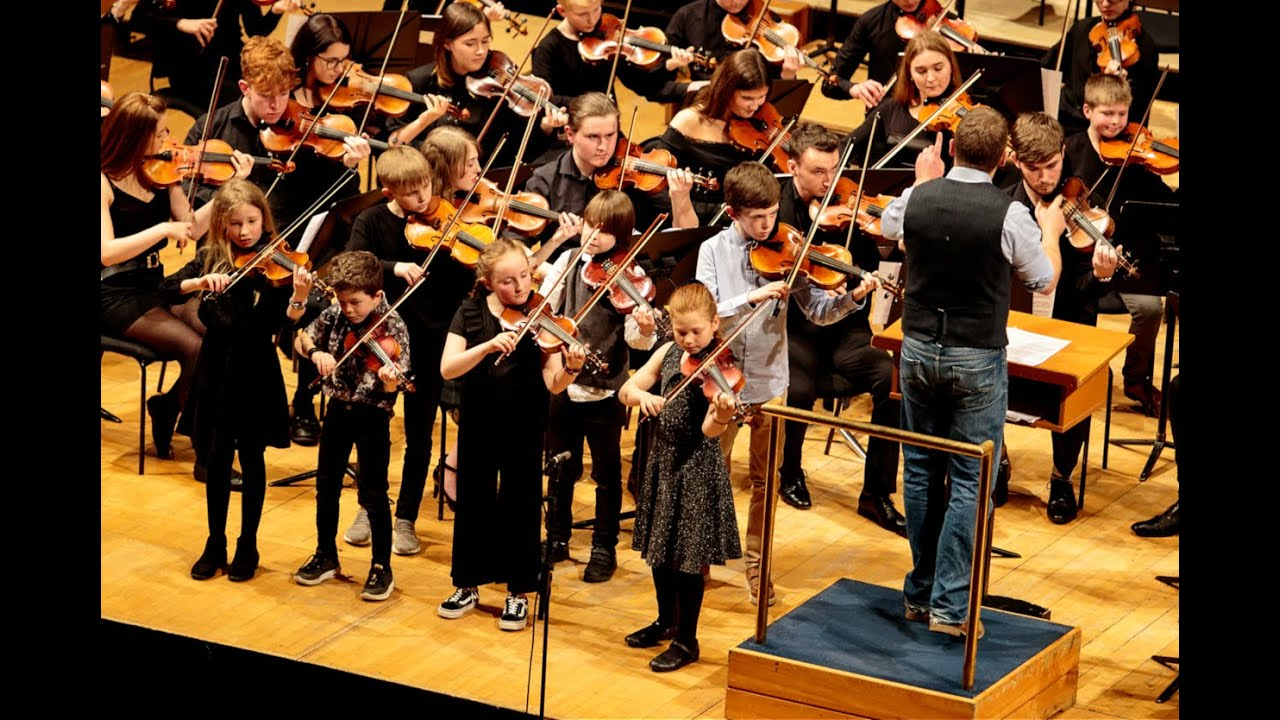 YDS in action at the National Concert Hall