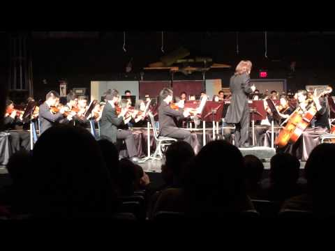 Tchaikovsky Symphony No.4, 3rd and 4th Movement, Diamond Bar High School