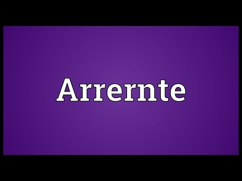 Arrernte Meaning
