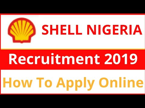 Shell Nigeria Jobs 2019 || Oil And Gas Jobs || Apply Online