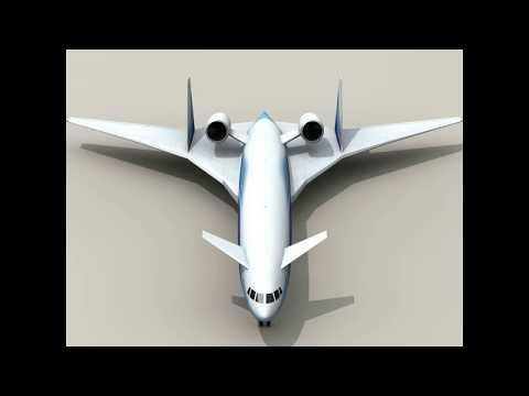 3D Model of Sonic Cruiser