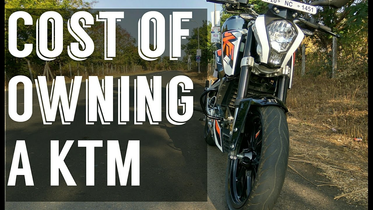 cost of owning a ktm duke 200/rc 200 ( maintenance, servicing