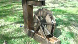Wooden Water Wheel Small C Style