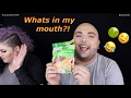 What The Heck Is In My Mouth?! | Funny Food Challenge!