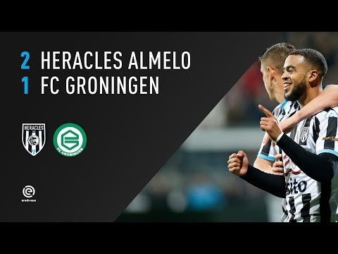 Heracles Almelo - FC Groningen 2-1 | 04-11-2017 | Samenvatting