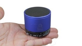 Mini caixa de som Bluetooth - FM - micro SD - Aux - TIOCHICOSHOP