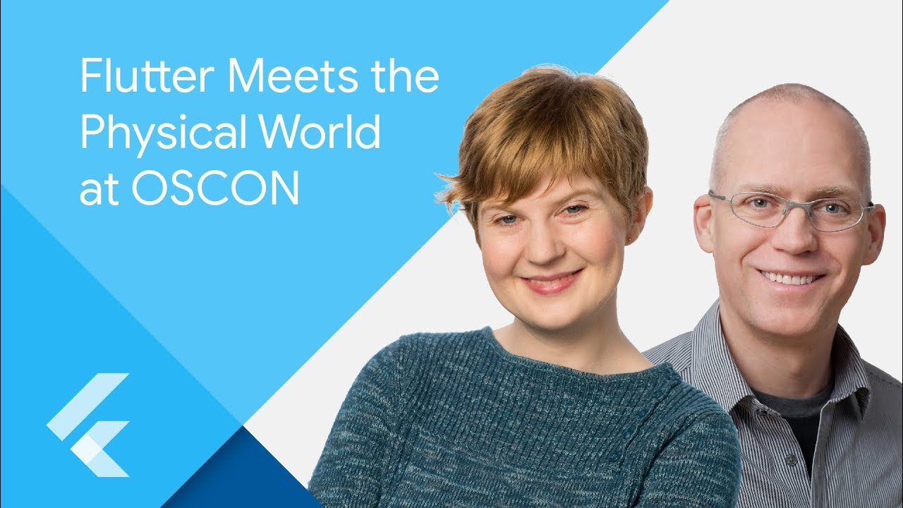 Flutter Meets the Physical World at OSCON