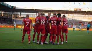Highlights: FC Nordsjælland vs Cliftonville FC: 2-1