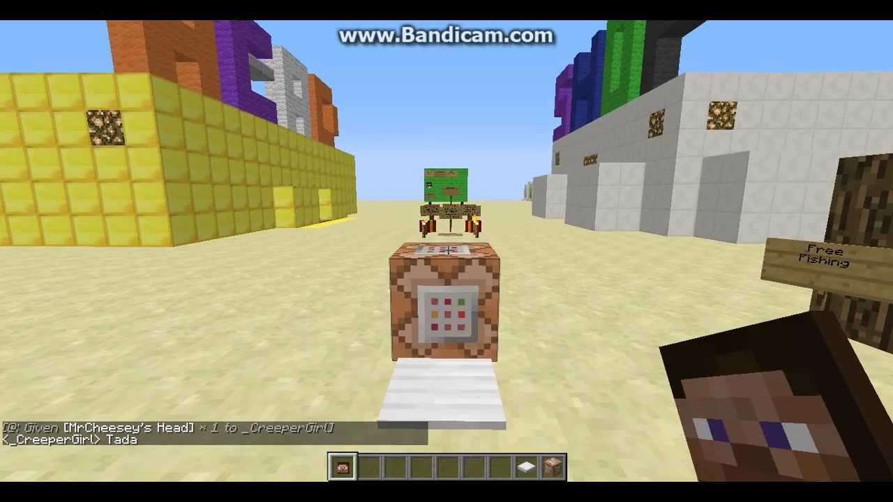 Build A Head >> Minecraft - How To Spawn Head In SinglePlayer (Tutorial ...