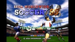 WorldWide Soccer 98 - Sega Saturn - MON JEU de foot sur Saturn