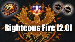 Path of Exile: Niffler´s Righteous Fire Guide [2.0.0]