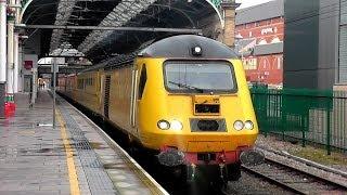 The New Measurement Train stops by in Preston 14/01/14