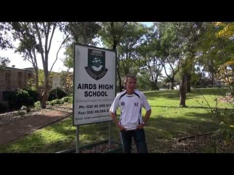 N2C Ambassador Warren Luff Visit Airds High School in Sydney with No Second Chance