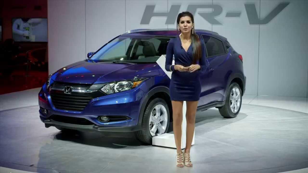2016 Honda HR-V - Los Angeles Auto Show - YouTube