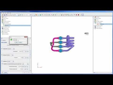 ANSYS Forte: Multi-Cylinder Four Stroke Engine Simulation - Part 3