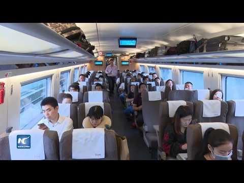 China regresa a 350 kmh velocidad de tren bala