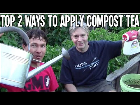 Top 2 Ways to Apply Compost Tea to Your Garden for Best Results