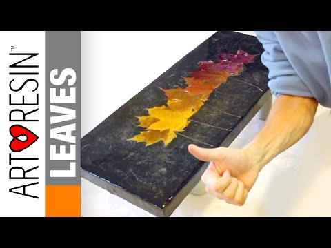 ArtResin Leaves