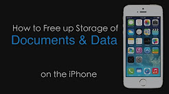 How to Free Up Space That Doc and Data Takes on iPhone?