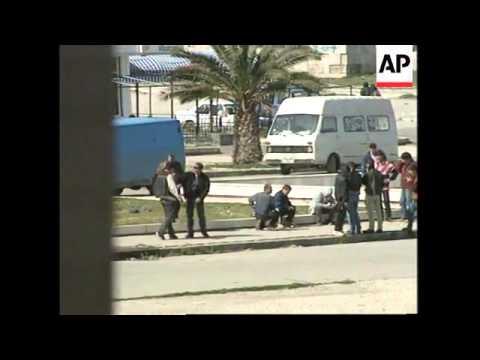 ALBANIA: TIRANA/VLORA: VIOLENT RIOTS CONTINUE