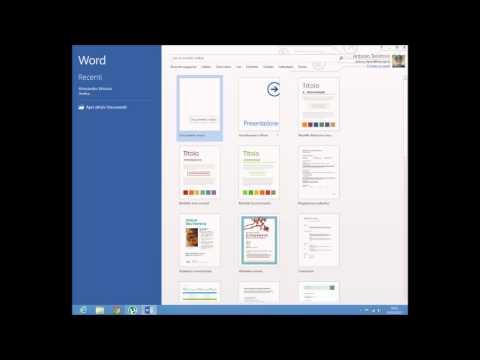 Presentazione word 2013