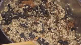Recipe for Risotto with mushrooms - Jose Andres