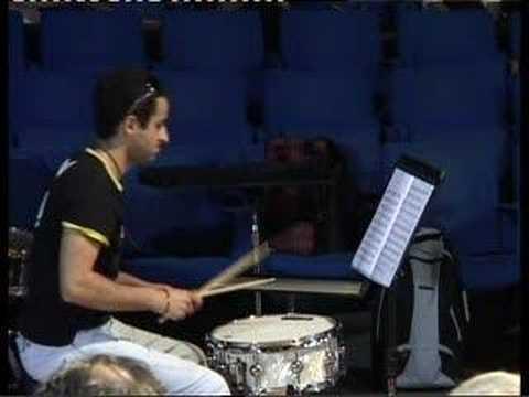 Snare drum competition,conservatorio niccolò piccinni bari.