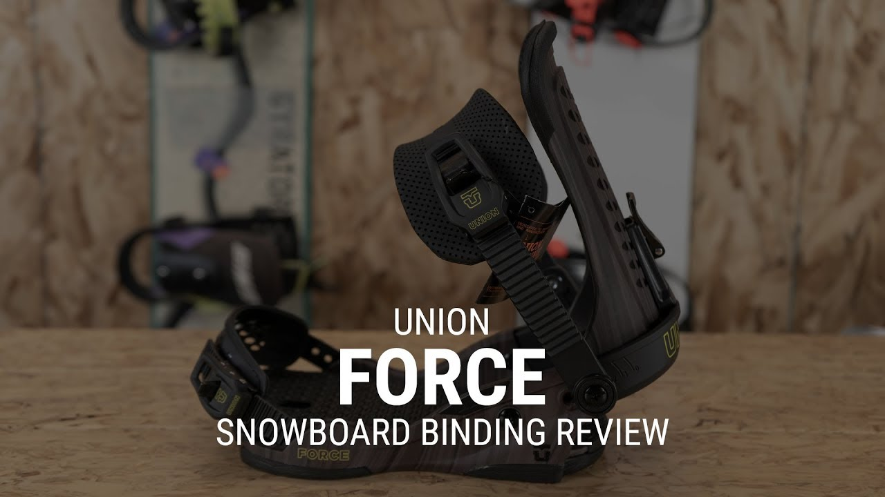 Union Force 2019 Snowboard Binding Review - Tactics