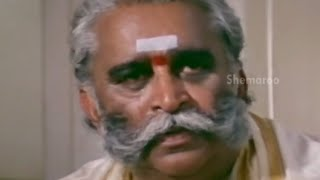 Alluda Majaka Movie Scenes - Chiranjeevi father gets wreched - Ramya Krishna, Ramba