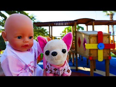 Giochi per bambini.  Video con la bambola Nenuco. Come Mamma