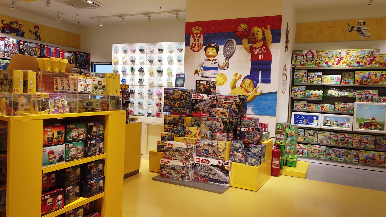 Lego Store Belgrade Serbia Youtube