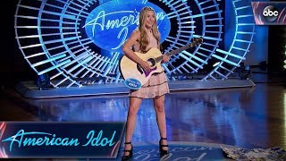 Harper Grace Auditions for American Idol With Down-home Original Tune - American Idol 2018 on ABC thumbnail