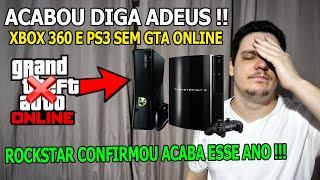 ROCKSTAR PORQUE NOS ABANDONOU? SERVÏDORES DO GTA 5 ONLINE SERÃO FECHADOS ESSE ANO NO XBOX 360 E PS3