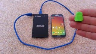 Jak připojit externí Harddisk k mobilnímu telefonu nebo tabletu