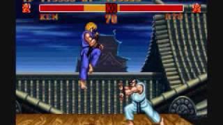 Street Fighter II Turbo-Ken Playthrough 1/3 thumbnail