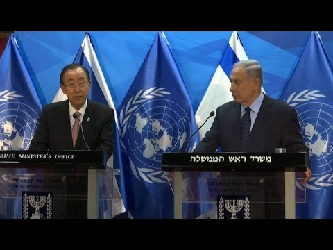 UN chief Ban criticises Israel