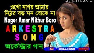 Bengali DJ song - Nagor Amar Nithur Boro - DJ song mix - Bengali so