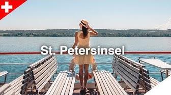 St. Petersinsel auf dem Bielersee:  Insel-Hüpfen in der Schweiz #3