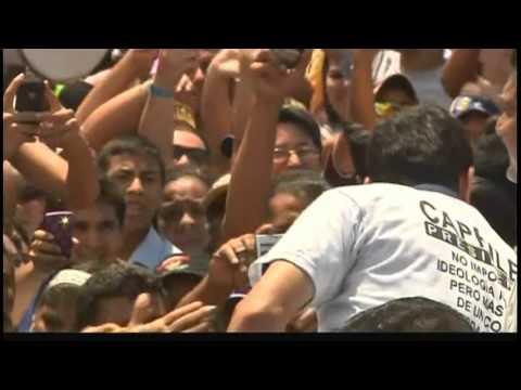 5197LA VENEZUELA-INTERVIEW-CAPRILES