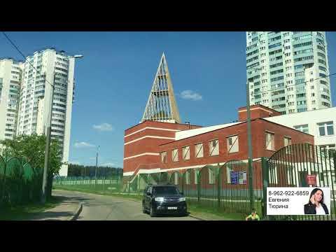 Проезжаем по району Кожухово  Смотрим улицы, дома и расположение объектов