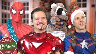 AVENGERS CHRISTMAS GIFT SWAP - Spider-Man, Iron Ma...