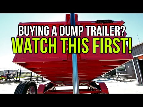 Buying A Dump Trailer? Watch This FIRST! What's Import! Texas Pride Trailer.