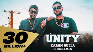 Karan Aujla Feat. Bohemia ( UNITY - Full Video) Deep Jandu I Rupan Bal I Latest Punjabi Song 2018